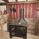Kuchyň historické plachetnice